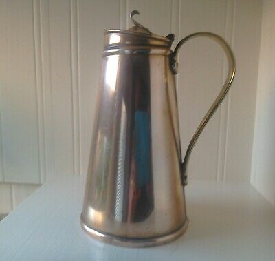 stunning antique arts and crafts copper/brass water jug by W.A.S. Benson