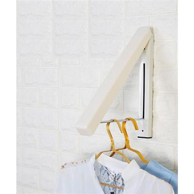 Indoor  Foldable Wall Mounted Airer Clothes Line Dryer Rack N7