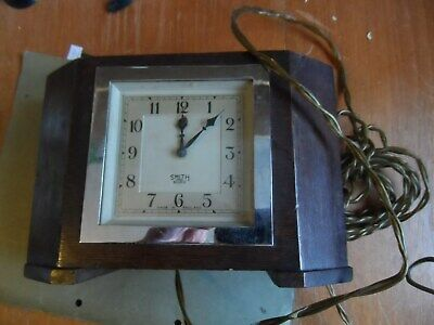 smiths sectric electric clock s e c cricklewood  england 240 volt spares /repair