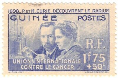 French Guinea #B2 Curie Used 25% of SCV $8.75 **FREE Domestic SHIPPING**