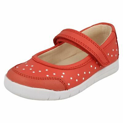 Girls Clarks Casual Mary-Jane Styled Shoes Emery Halo