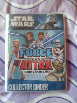 Topps Force Attax Star Wars Trading Card Game Binder/Album Limited Ed