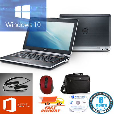 ULTRA FAST WINDOWS 10 DELL CORE i5 E6420/E5420 LAPTOP MULTICOLOURS UPTO 1TB HDD