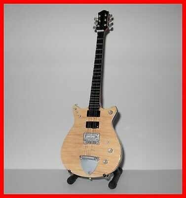 AC/DC GUITARE MINIATURE ! MALCOLM YOUNG Jet Firebird signature Heavy Metal angus