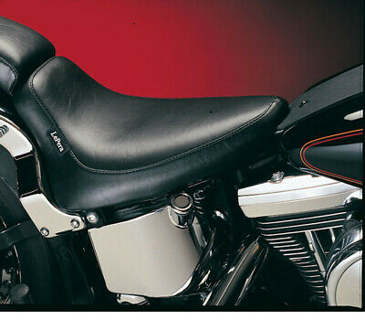 Le Pera Smooth Silhouette Solo Seat 1984-99 Harley Softails FXST FLST