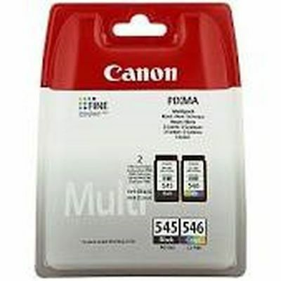CARTUCCIA CANON PG 545 + CL 546 ORIGINALE Multipack 8287B006