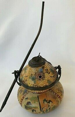 Antique Japanese Opium Pot