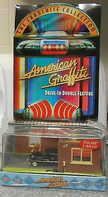 American Graffiti Drive-In Double Feature (DVD 2004) RARE NEW W DIE CAST CAR SET
