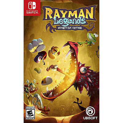 Rayman Legends: Definitive Edition Switch [Brand New]