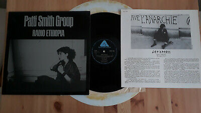 Patti Smith Group - Radio Ethiopia - Lp - Insert - Black Labels - Uk 1976