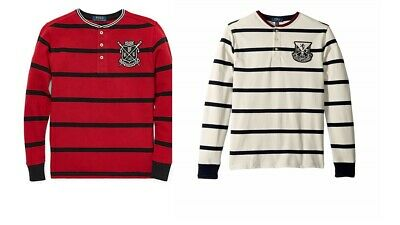 Polo Ralph Lauren Boys Striped Cotton Long Sleeves Shirt Choose Size and Color