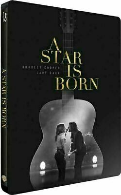 A Star Is Born - Exclusive Steelbook [Blu-ray+DVD] New and Sealed!!
