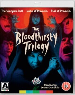 NEW The Bloodthirsty Trilogy Blu-Ray