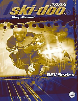Ski-Doo service shop manual 2004 MX Z ADRENALINE 600 HO SDI