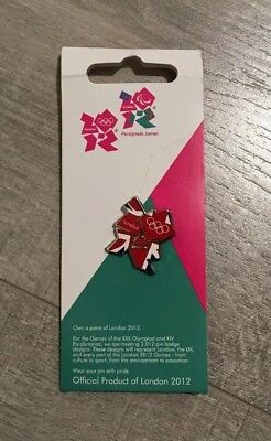 London Paralympics 2012 Wenlock Metal Lapel Pin London 2012