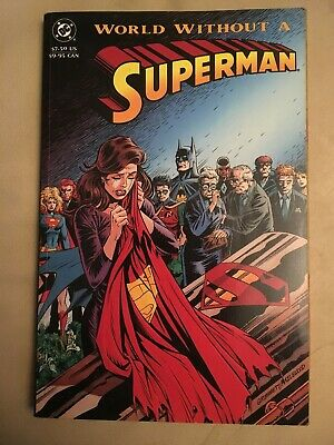 World Without a Superman - DC Comics - TPB Graphic Novel