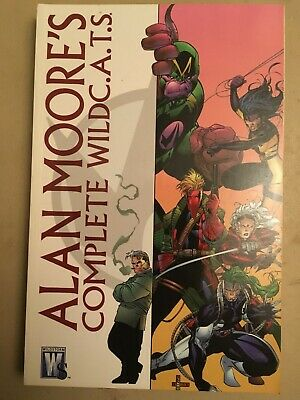 Alan Moore - The Complete Wildcats TPB - Wildstorm Comics - WildC.A.T.S.