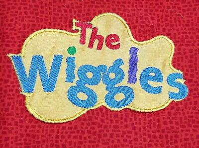 Embroidered WIGGLES LOGO MOTIF - Large...,