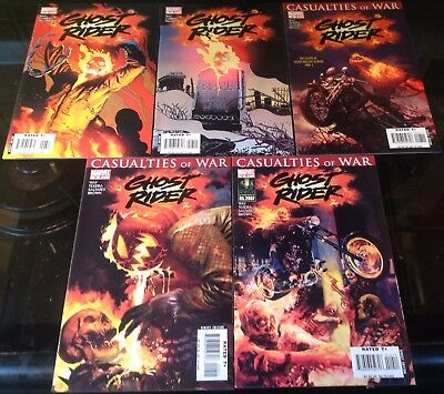 Ghost Rider Marvel 2007 Issues  6,7,8,9,10 Daniel Way Writes