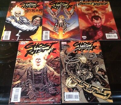Ghost Rider Marvel 2007 Issues  16,17,18,19 & Annual 1 Daniel Way Writes