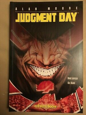 Alan Moore - Judgement Day Graphic Novel TPB - Checker