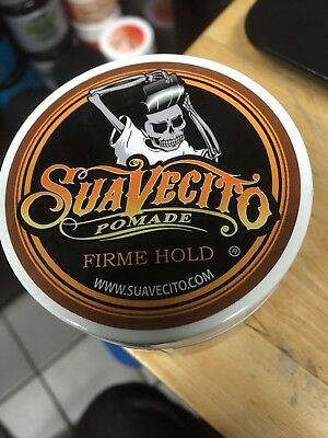 Suavecito - Pomade - Strong Firme Hold - 4 Oz - Free Shipping