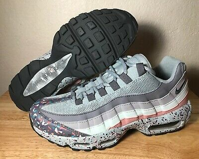 85391e762f Nike Air Max 95 SE Confetti Womens Running Shoes SZ Pumice Grey Pink 918413 -002