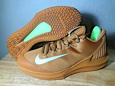 quality design f0942 0fbfc Nike Court Air Zoom Zero HC Mens Tennis Shoes Size 10 Flax White New AA8018-
