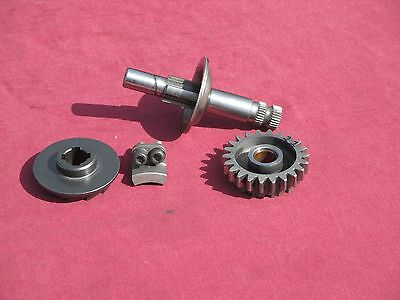 72 HUSQVARNA HUSKY 450WR 250WR KICK START SHAFT AND GEAR ahrma VINTAGE