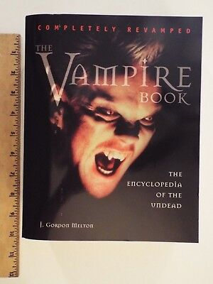 NEW-The Vampire Book: Encyclopedia of the Undead by J. Gordon Melton-Paperback