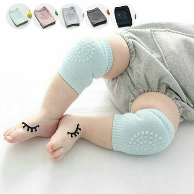 Safety Crawling Knee Elbow Pads Infant Toddler Baby Anti-Slip Leg Protectors