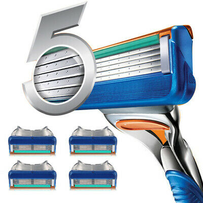 4pcs/pack Razor Blade For Men Face Care Shaving For Gillettee Fusion Handle