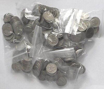 10 x 1966-2000 5c Circulated sets Missing 1972 5 cent(LotE1196166719)Free Post