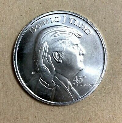 Donald Trump 1 OZ President .999 Silver Coin - One Troy Ounce Bullion