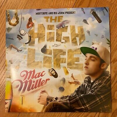 "Mac Miller - The High Life [2LP] Vinyl 12"" Limited Edition Record 2013 33"