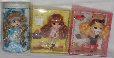 (Boxed) 3 x GROOVE INC LITTLE PULLIP Dolls