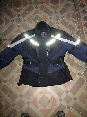 Buffalo Motorcycle Jacket Textile Size Large