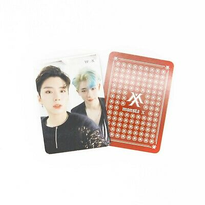 [MONSTA X]2nd Album Take.2 'WE ARE HERE' Official Unit Photocard/W:K