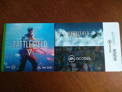 Codes XBOX ONE Battlefield V Deluxe Edition +Battlefield 1943 +1 mois EA Access