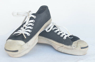 80d65970b201ad Jack Purcell Vintage Sneakers Made In Usa Men Size 4.5 Mens Black Suede  Uppers