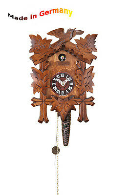 Quarter-Hour Striking Cuckoo Clock, 1-day Chain-Driven Movement, Made in Germany