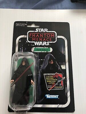 NEW 2011 Star Wars ✧ Darth Sidious ✧ Vintage Collection VC79 MOC