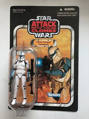 Star Wars - clone trooper lieutenant vc109,the vintage collection,Unpunched moc