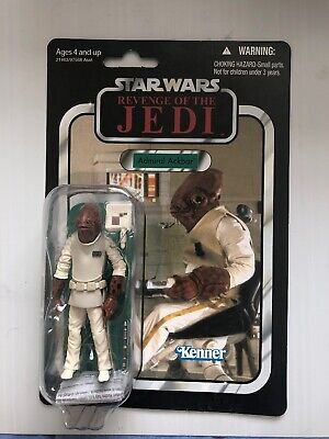 star wars vintage collection Vc22 ,Revenge Of The Jedi, Admiral Ackbar,unpunched