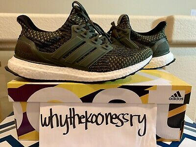 0f02a6494 ADIDAS ULTRA BOOST 3.0 - Trace Cargo  Military Green - Us Mens 8  Us ...