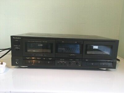 Vintage Technics RS-TR165 Double Cassette Deck fully tested and working