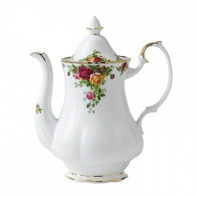 Royal Albert Old Country Roses - Large Coffee Pot - Made in England