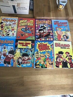 Collection Of 'The Beano Book' Ranging From 1982 To 2002. 15 In Total