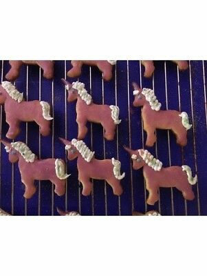 Unicorn Cookie Pastry Biscuit Cutter Icing Fondant Baking Bake Kitchen Cute Fun