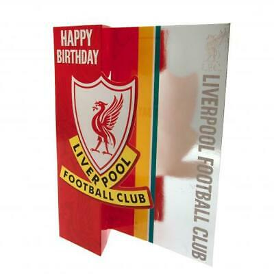 Liverpool Fc Happy Birthday Card For Everyone Liverbird Present New Xmas Gift